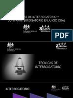 Penal - Interrog. y contrainterrog. en Juicio