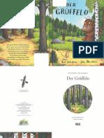 Axel Scheffler   Der Grüffelo(