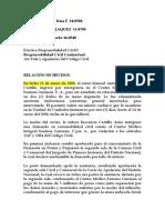 PRACTICA RESPONSABILIDAD CIVIL CONTRACTUAL. PRECEDENTE SCJ  CENTRO MEDICO SANTANA GUZMAN.docx