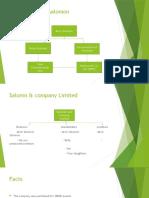 SALOMAN vs saloman & Co presentation