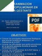 REANIMACION CARDIO PULMONAR EN LA GESTANTE