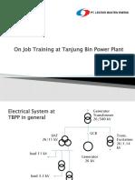 On Job Training at Tanjung Bin Power Plant Erick Immanuel.pptx