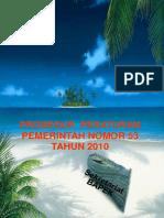 PROSEDUR PP 53 Thn 2010