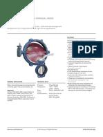 Keystone Butterfly valve ParaSeal range