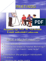 Kuptimi i Marketingut - 1