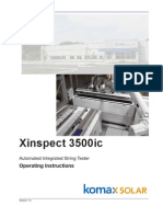 Xinspect 3500ic Operating Instructions - Version 1.0 May 2010