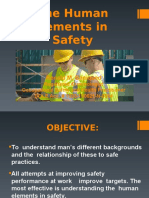 The Human Element in Safety PEME