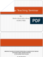 Language Teaching Seminar (Kevin Ameraldo Abrar).pptx