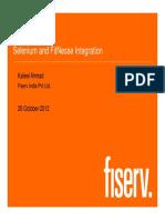 07_Selenium and Fitnesse Integration