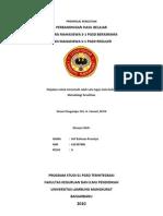 Perbandingan Hasil Belajar Antara Mahasiswa S-1 PGSD Berasrama Dan Mahasiswa S-1 PGSD Reguler