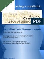 Storytelling e creatività