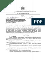 Ordinul Msmps Nr. 385 Din 09.04.2020 Acordare Asist Med Covid-19 La Etapa de Transmitere Comunitara a Infectiei