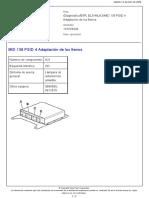MID 136 PSID 4 Adaptación de los frenos