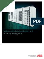 1TNC911701M0206 ABB M10x Ordering Guide