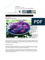 Dyeing plant fibres