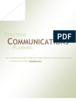 Strategic Communications Planning