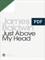 Just Above My Head (Penguin, 1994) - James Baldwin