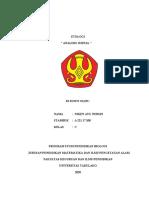 ANALISIS JURNAL NIKEN AYU NURSIN (A22117108)
