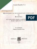 Spidlik, P Tomas S J - Monahism Si Religiozitate Populara in Romania