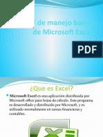 manual de manejo de microsoft excel