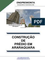 Construção de Prédio Em Araraquara