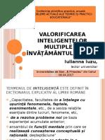 Valorificarea Inteligențelor Multiple