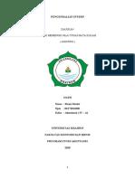 RASNI MASIRI 02271811002 ( BAB 5 )