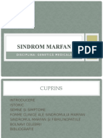 Sindromul Marfan