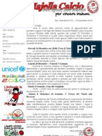 Lettera Alle Famiglie - Natale Majella Calcio 2010