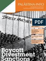 2010 PALÄSTINA-INFO Halbjährliche Zeitung, Palästina-Solidarität Region Basel