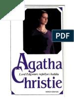 1933 Agatha Christie - Lord Edgware rejtélyes halála