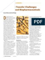 Technology Transfer Challenges for in-licensed Biopharms