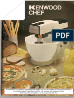 Kenwood Chef A901 - User Manual