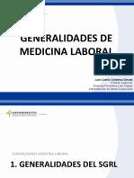 GENERALIDADES DE MEDICINA LABORAL