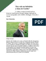 Entrevista a Rudiger Safranski 2015_Iker Seisdedos
