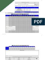 Formato Cronograma de Capacitaciones con Objetivos