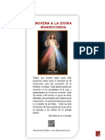 Novena de Santa Faustina Kowalska pdf