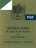 RecopilacionLeyesReynosIndias
