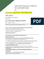 Antiviral Gases