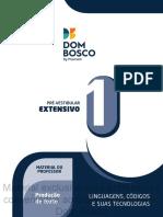 Produção de Texto (vol 1) - Dom Bosco