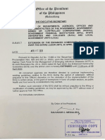 Memo from ES - Extension of ECQ