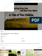 the tale of two pebbles story in 10 lines - Google Search