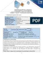 Guía de actividades y rúbrica de evaluación - Tarea 3 - Teoremas de conservación