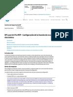 Configuración de la función de escaneo a correo electrónico HP LaserJet Pro MFP.pdf