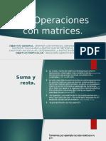 5.3 Operaciones Con Matrices.