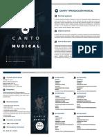 Canto producción-músical
