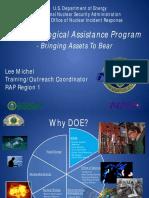 Introduction to the DOE RAP Program.