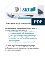 How to manage difficult conversations in OET Speaking .pdf