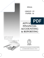 ICWAI Final - Financial Accounting