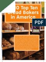 Top Ten Bread Bakers in 2010 (Dessert Professional)